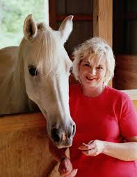 Carolyn with Horse