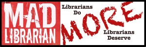 Mad Librarian Bumper Sticker