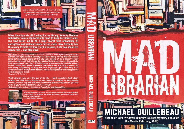 Cover of MAD LIBRARIAN by Michael Guillebeau